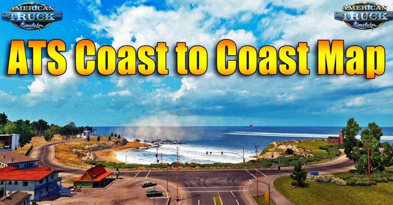 Coast to Coast Map v 2.1 Released Mod