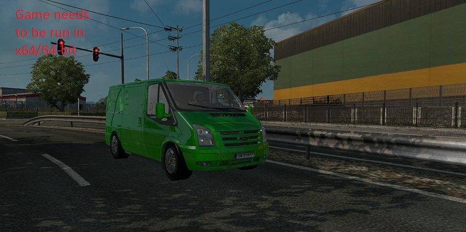 Ford Transit v 1.1 By Azorax Modding