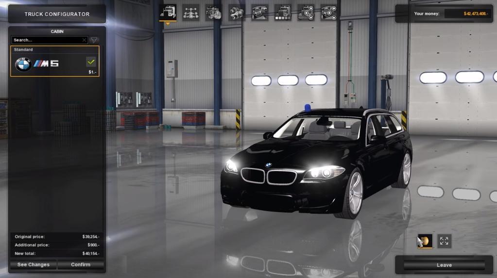 BMW M5 TOURING 1.6.X