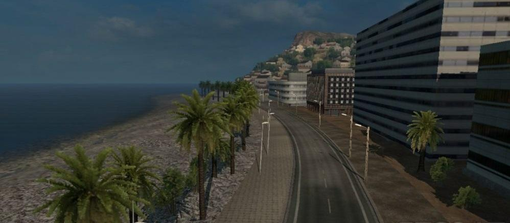 ALTERNATIV ROAD BETWEEN MARSEILLE AND NICE
