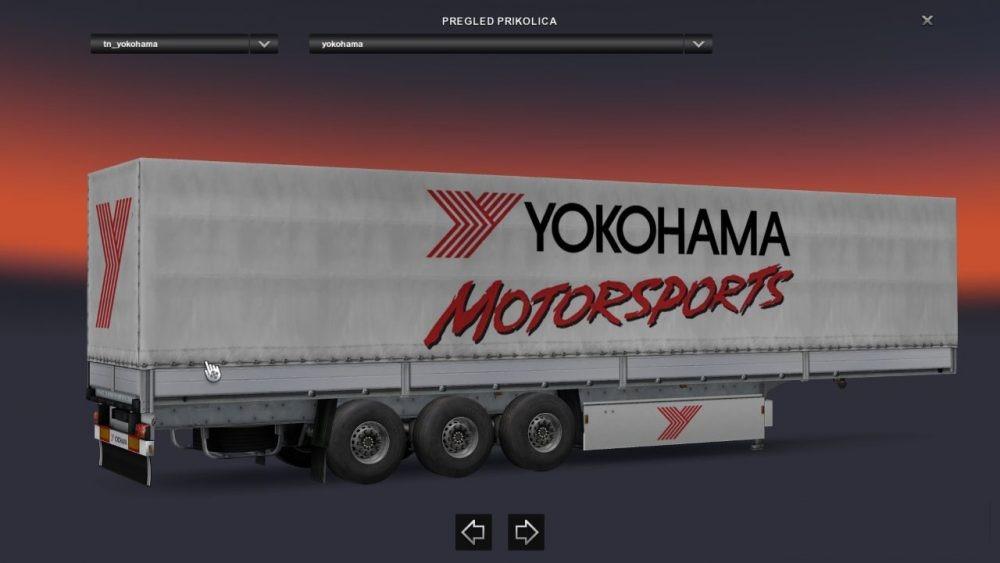 MICHELIN, GOODYEAR AND YOKOHAMA TRAILERS PACK