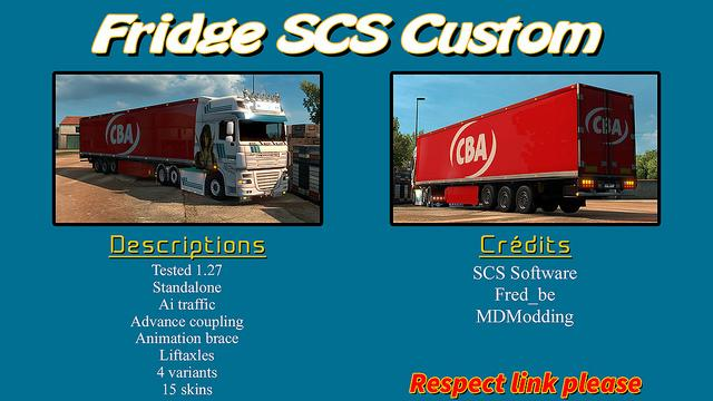 SCS KRONE FRIDGE REWORKED 1.27