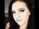 Безупречная fashion-работа преподавателя Ванды Поляновской на уроке по макияжу.
