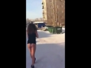 Голая малолетка на улицах Красноярска