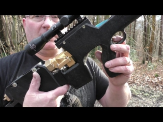 LOOK3 Homemade Bullpup Sniper Airbow made from plumbing accessories