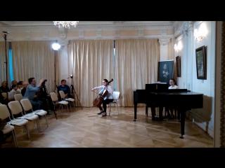 Соня в Культурном центре Елены Образцовой 24.04