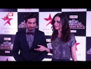 Sanaya Irani And Mohit Sehgal At Star Parivaar Awards 2017 _ Viralbollywood