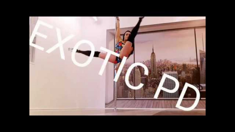 Exotic pole dance constructor by Masha Lu TURNS - повороты