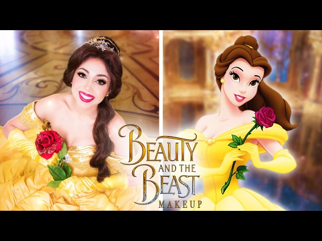 Beauty and the Beast BELLE Makeup Charisma Star