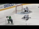Tyler Seguin finishes tic-tac-toe passing play 122316