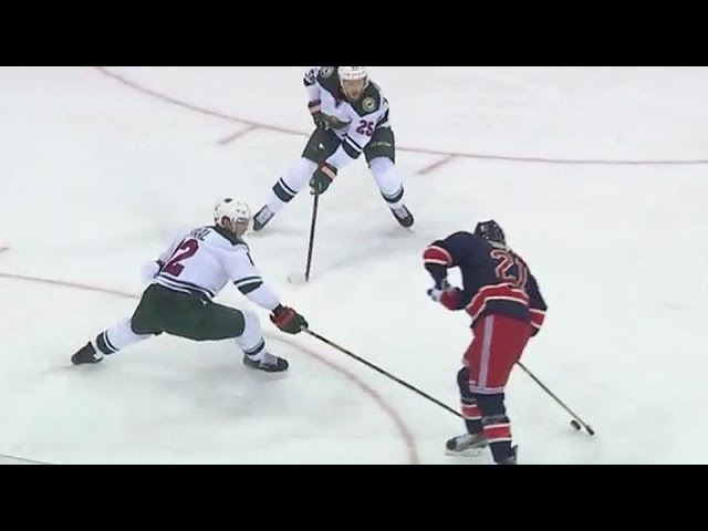 Derek Stepan toe drags and finishes for great goal 12/23/16