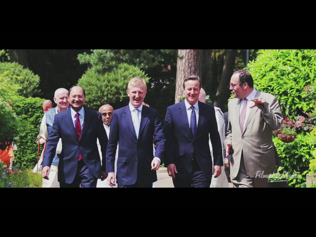 UK Prime Minister Praises ISKCON