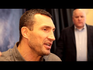 Wladimir Klitschko wants a fighters union for boxers It bothers me, that should be changed