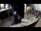 Процесс изготовления элемента художественной ковки