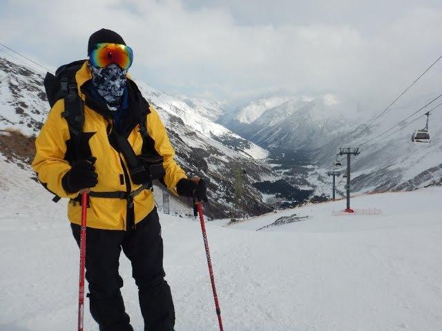 [Блог] Зимнее восхождение на Эльбрус. Поляна Азау - Станция Мир 1