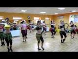 Russian dance on Indian song ! индискии танец