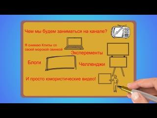 Рисованный ролик для Grishka (doodle видео)