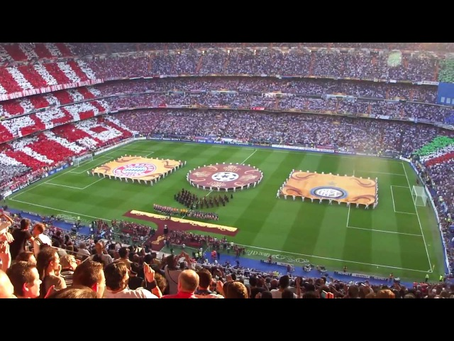 UEFA Champion's League Final 2010 Opening Ceremony