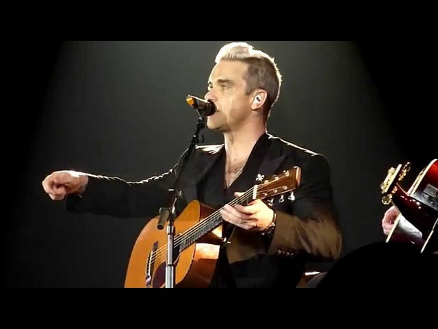 HD - Robbie Williams - Motherfucker *NEW SONG* (live) @ Tips Arena, Linz 2015 Austria