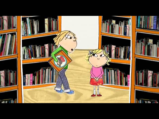 Charlie and Lola But that is my book HQ