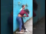 women vs men, she beat down the old man lmfao funny fight , stupide people