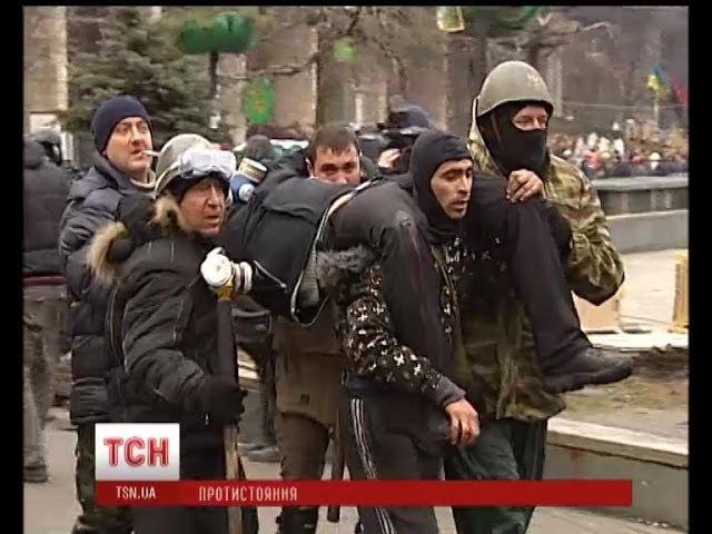 На Михайлівську приносять поранених