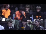 [MAMA2016] NCT Reaction to their wining 'Rookie Award' (Nervous Taeyong) @ MAMA 2016 кфк