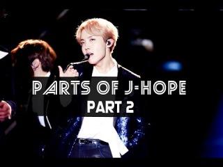 PARTS OF J-HOPE (Part 2)〡BTS - Blood Sweat Tears