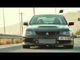 Mitsubishi Lancer Evo IX MR 870+Ps@11.000rpm (Boost 14psi)