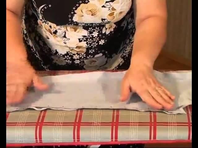 Обработка подкладки. Часть 3.