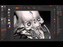 Digital sculpting in zbrush (GHOOLL)