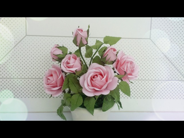 ABC TV | How To Make Rose Paper Flower With Shape Punch - Craft Tutorial