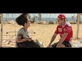 The Daily Race: Sebastian Vettel meets Brazilian beach volleyball player Sephora