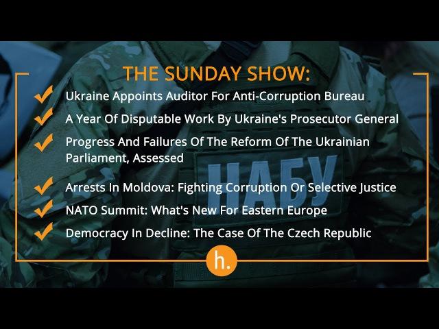 The Sunday Show: NABU Auditor, Ukraine's Prosecutor General's Year, Arrests in Moldova