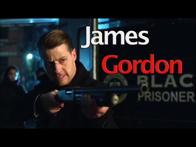 Gotham►James Gordon || Superhero