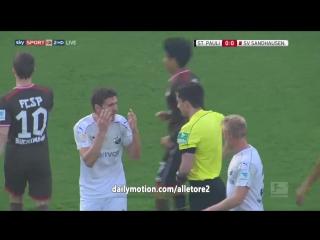 FC St. Pauli - SV Sandhausen - 0-0 (04-04-2017)
