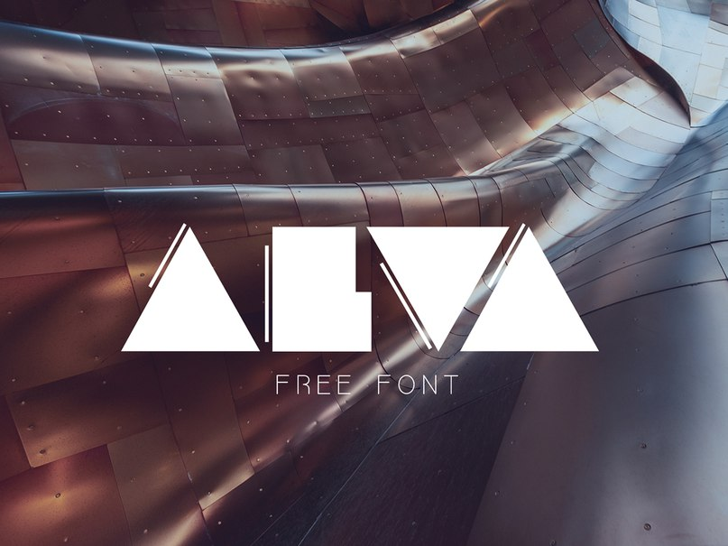 Alva шрифт скачать бесплатно