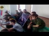 Молодая Гвардия Донбасса на поддержке своего воспитаника в соревновании по любительскому плаванию среди работников бюджетных учр