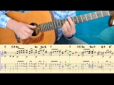 FORREST GUMP (Feather Theme) Tutorial for guitar (TABs and Score)