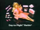 1984 Day-to-Night Barbie & Ken Dolls Commercial. Старая реклама Барби и Кена