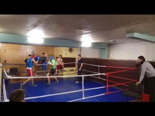 Роман(65кг) VS Рафа(76кг)