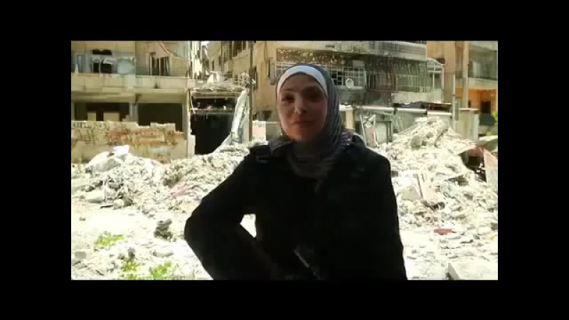 English Interview with Guevara FSA's Palestinian-Syrian Woman Sniper (2013)