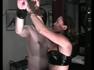 German MILF domina in kinky BDSM action  Tube Cup