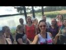 Наша первая open air тренировка, бег 🏃🌲