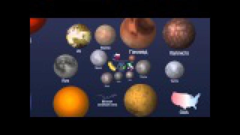 Настоящие размеры вселенной (САМ ЗАЛИП на 6 минут и ВАМ РЕКОМЕНДУЮ)