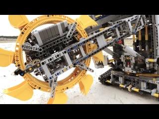 LEGO Technic — Роторный Экскаватор