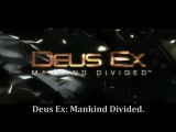 RUSSIAN LITERAL Deus Ex Mankind Divided
