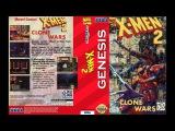 SEGA Genesis Music X-Men 2 Clone Wars - Full Original Soundtrack OST