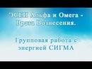ЭСЕИ Альфа и Омега - Врата Вознесения Групповая работа с энергией Сигма