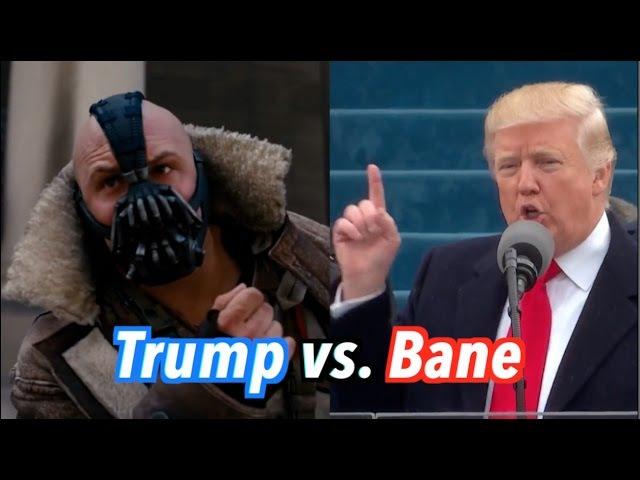 Trump vs Bane Inauguration Speech
